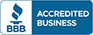 We are a Better Business Bureau Accredited Business